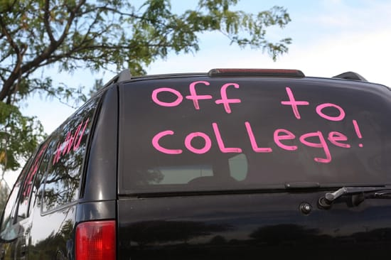 Bil till högskolan