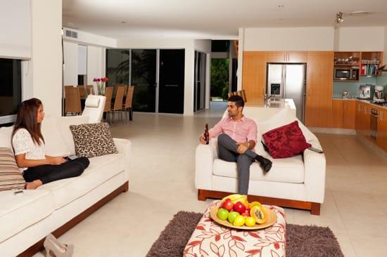 Möbler i vardagsrum